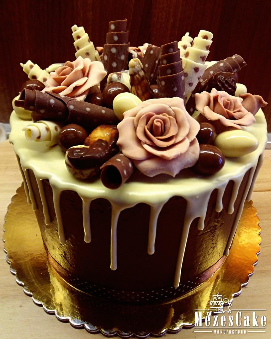 Csokivarázs torta