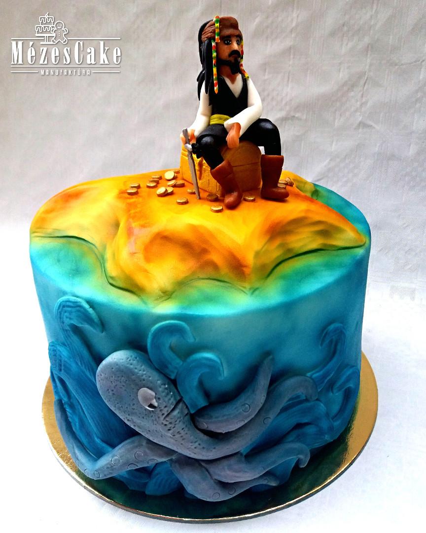Jack Sparrow torta