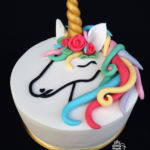 Unicornis torta lányoknak